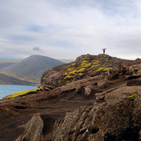 Planet Earth feels so big in Iceland