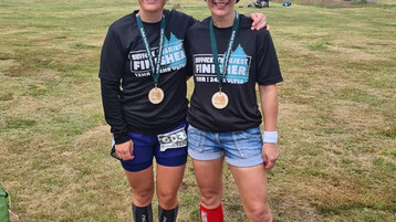 Beth & Rosie Bag 110 Miles at STF2021