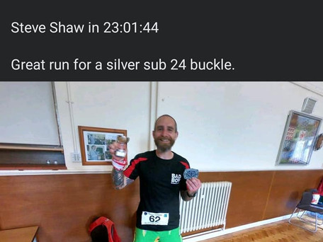 Steve Bags His First Hundred Miler