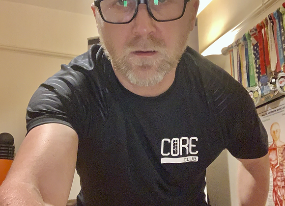 Core Club Men's Fitted T Shirt