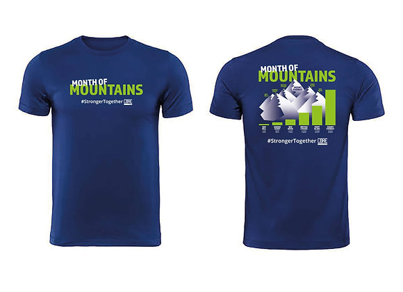 Month of Mountains T Shirt Men