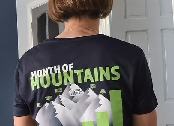 Month of Mountains T Shirt Women