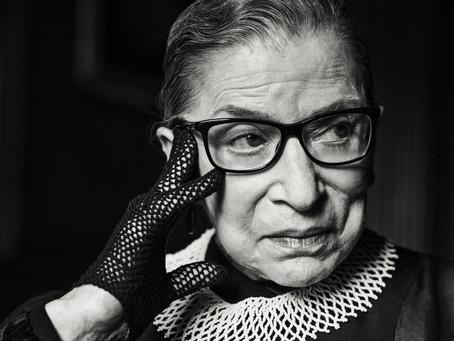 Power Monday - 不可不知的歷史性女力代表,美國最高法院大法官Ruth Bader Ginsburg