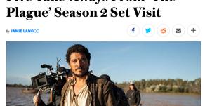 """Variety y Camera&Light se hacen eco del rodaje de """"La Peste"""" T2"""