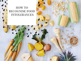 How to recognise a food Intolerance