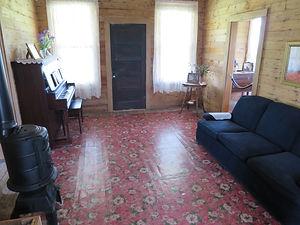 The living area in Johnny Cash's boyhood