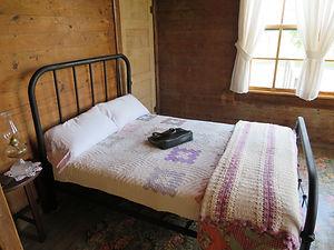 Johnny Cash's parents bed in his boyhood