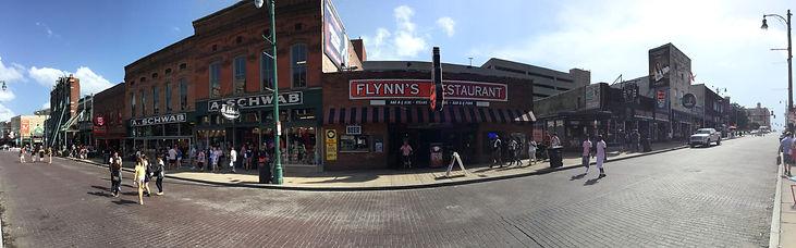 Beale Street panoramic