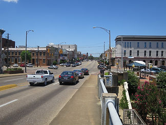 Selma from Edmund Pettus Bridge