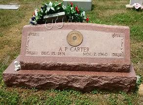 AP Carter's grave