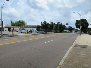 Union Avenue, looking towards Sun Studio