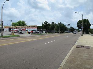 Union Avenue, looking towards Sun Studio