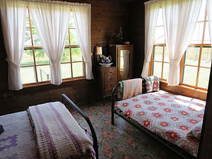 Where Johnny Cash's sister slept, at the