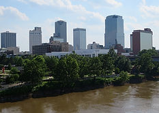 Little Rock from the river