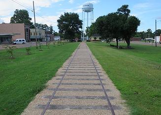 The old tracks in Moorhead