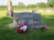 Gravesite of Johnny Cash's grandparents