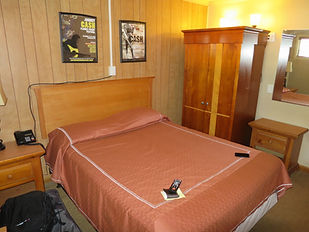 Room 22 at the Starkville Motel