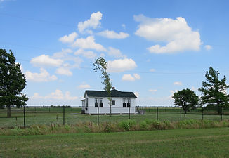 Johnny Cash's boyhood home in Dyess