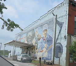 1927 Sessions mural