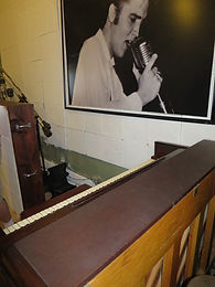 Where Jerry Lee Lewis pounded his heavy