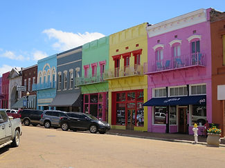 Main Street in Yazoo City