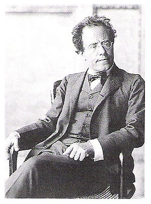 Mahler looking dignified. Life Ain't Kind