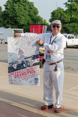 F&C Chief holds Flagger Ed Poster-X2