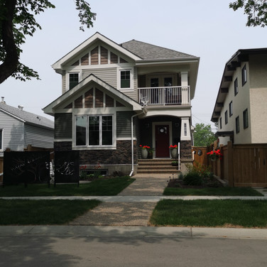 Another infill home