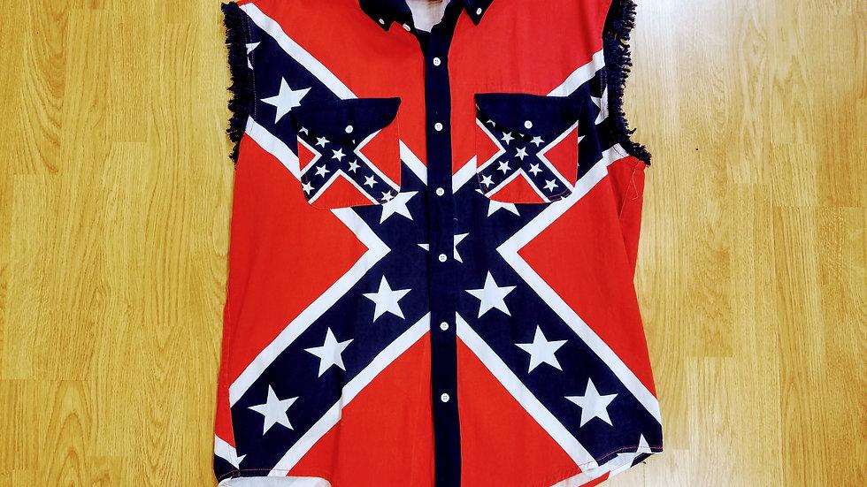 Cut-Off Confederate Men's Shirt