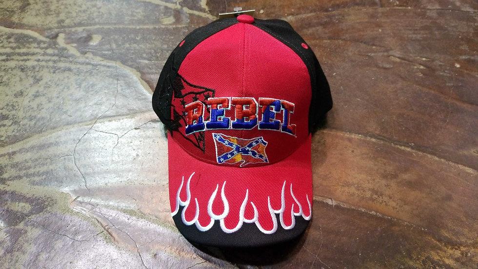 Fired Up Rebel Cap