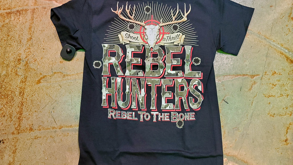 Rebel to the Bone Tee