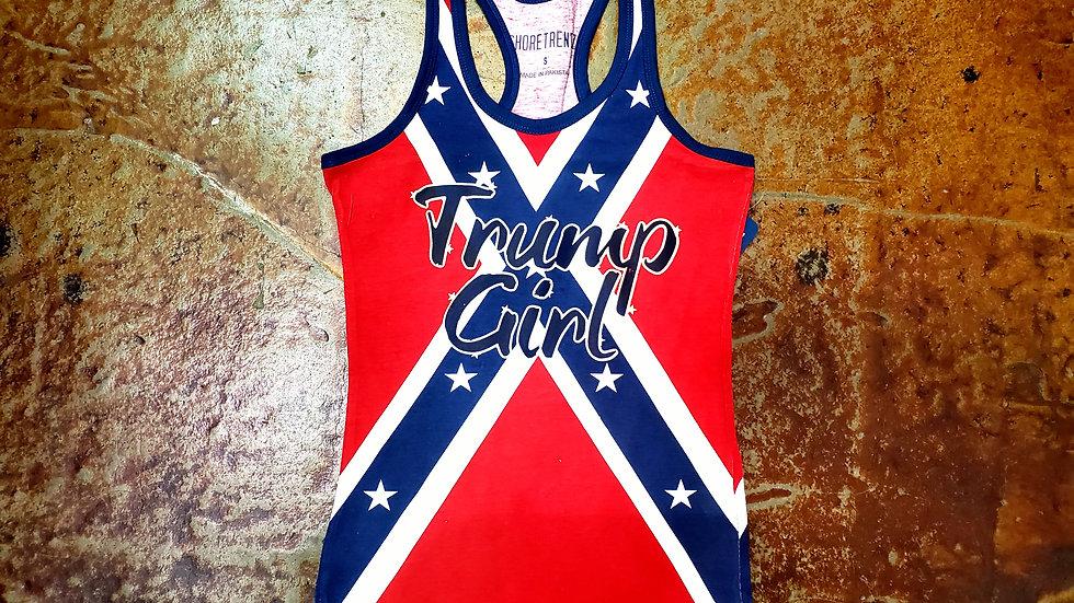 Trump Girl Rebel Tank