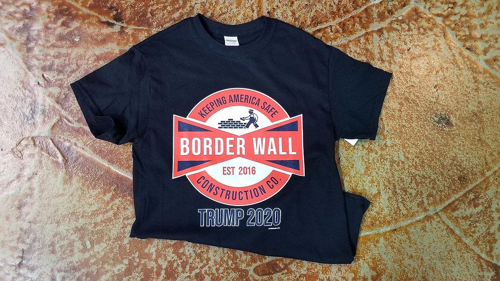 Border Wall Construction Company Tee