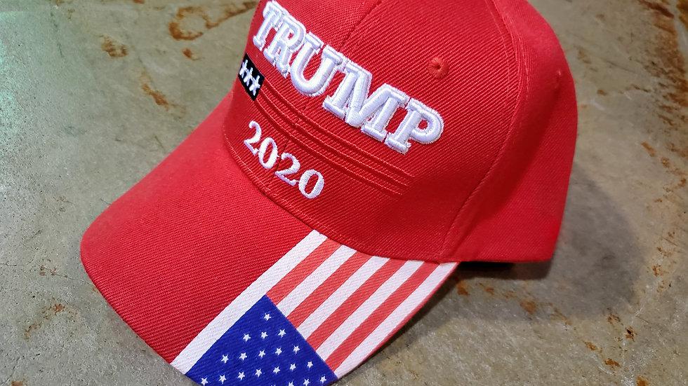 Red Trump 2020 Hat