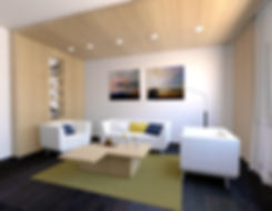 living room, z2, z2 architekti, yellow linving room