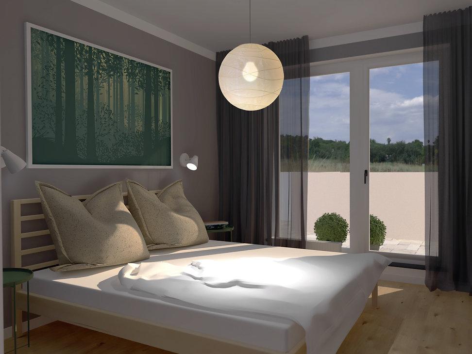 spaľňa, z2 architekti, low cost bed room, bed room