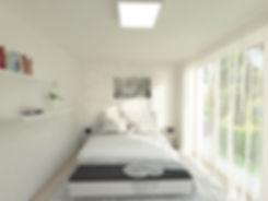 z2 architekti, z2, minimalistic bed room, moderná spálňa, black and white