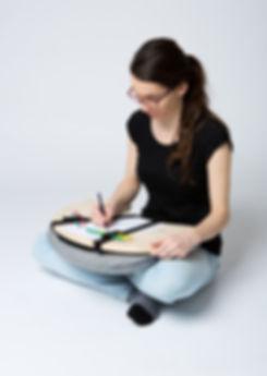 bean table, z2, z2 architekti, podlozka pod notebook