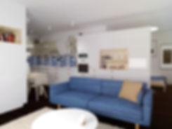 small apartment, z2, z2 architektiobývačka, sitting room, living room, family room, sofa, gauc, modrá, slnečnice, slovenko, slovak, trees, stromy, krajina, hory, interiér, dizajn, interior dizajn, small space, storage space, creative