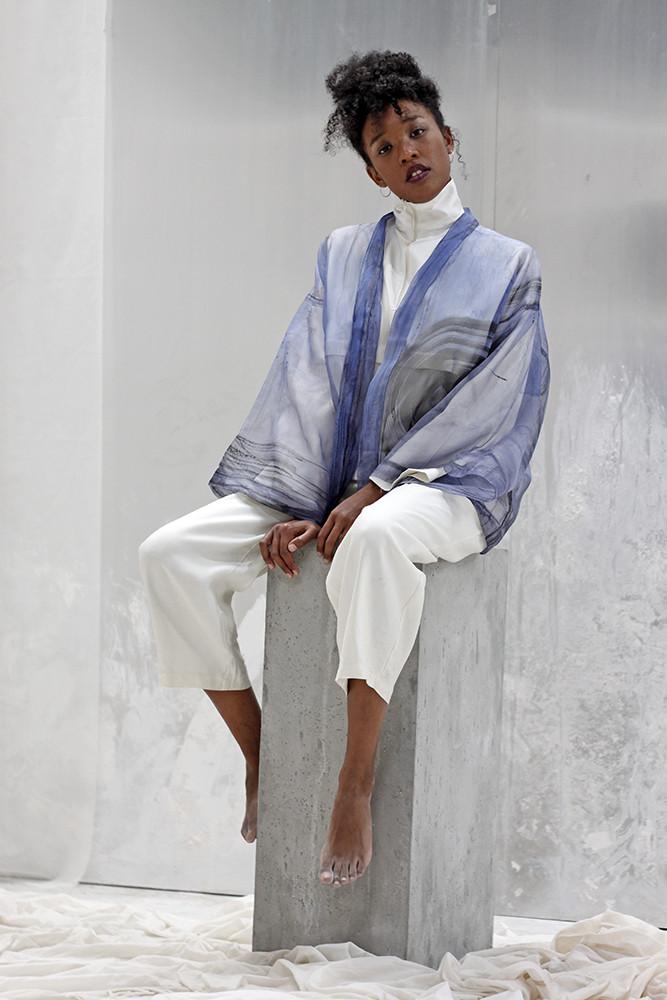 organza kimono