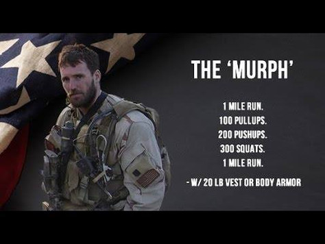 Murph WOD - Saturday May 21st 10:00am