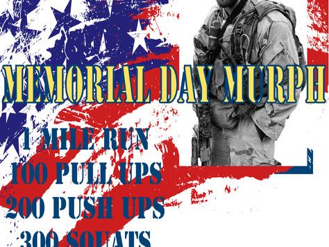 Memorial Day MURPH - 5/25/2015