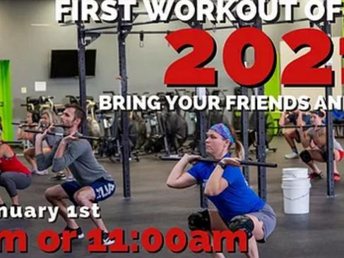 Friday's WOD: Bring a Friend WOD 9 & 11 AM