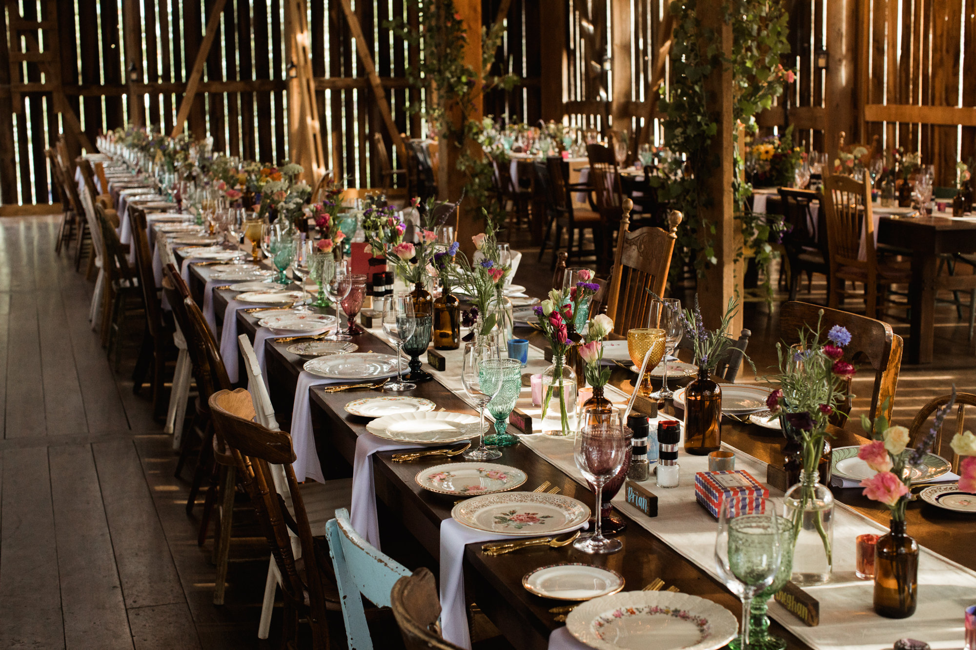 Reception by Willow and Wolf