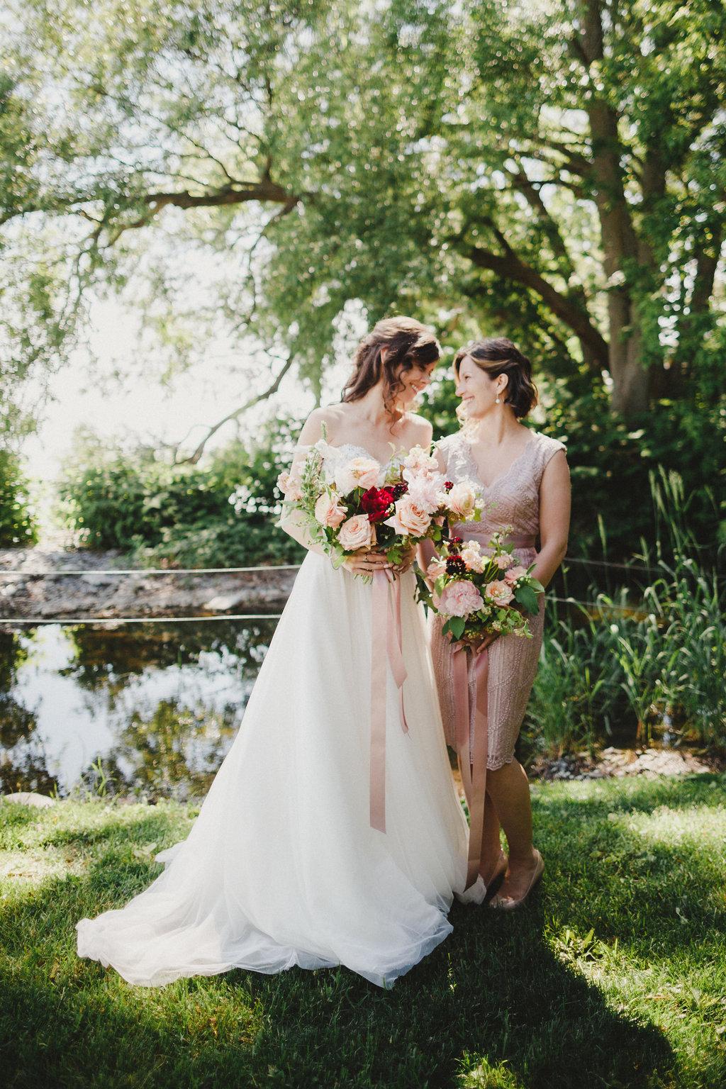 D + Bridesmaid