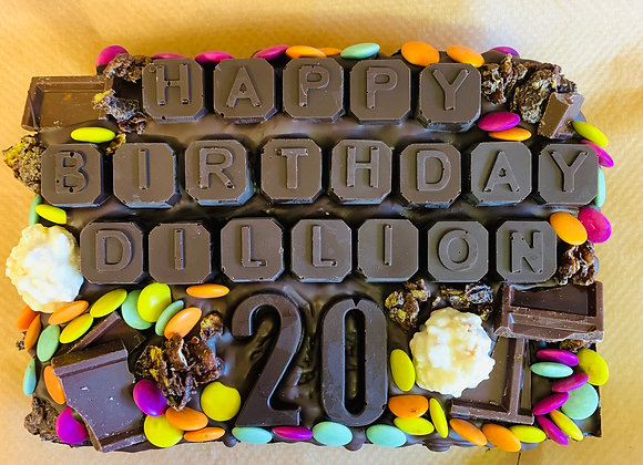 Personalise Your Own Brownie Slab