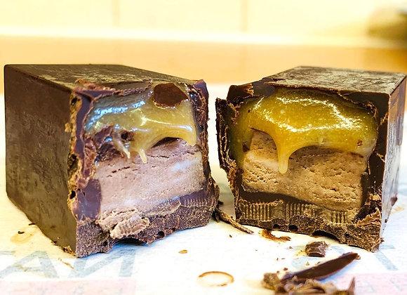 Vegan & Gluten Free Chocolate & Nougat Bar