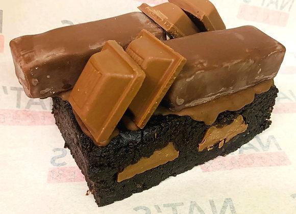 Vegan, Gluten & Soya Free Hazelnut Truffle & Praline Brownie