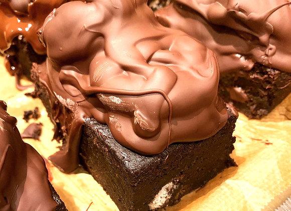 Vegan & Gluten Free Cookies & Cream Brownie