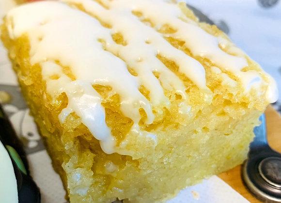 Vegan, Gluten & Soya Free Lemon Drizzle Cake